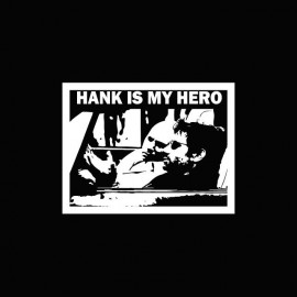 Tee shirt Californication hank moody blanc/noir