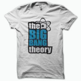 Tee shirt The Big Bang Theory blanc mixtes tous ages