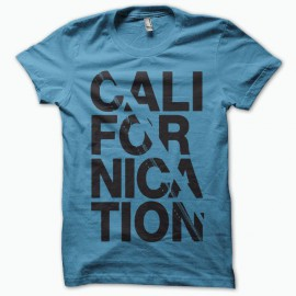 Tee shirt Californication noir/bleu