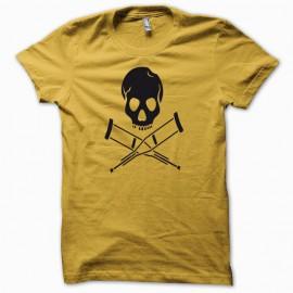Tee shirt Jackass noir/jaune