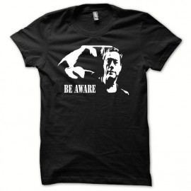 Tee shirt Jean-Claude Van Damme le roi du BE AWARE noir  mixtes tous ages