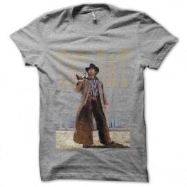 Tee shirt Chuck Norris la folle gris mixtes tous ages
