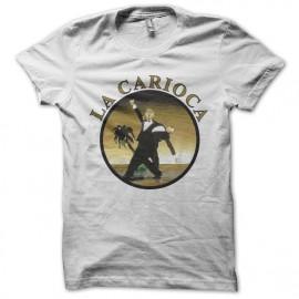 Tee shirt  Les Nuls la carioca blanc