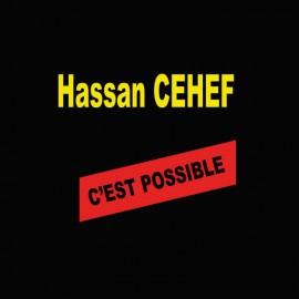 Tee shirt  Les Nuls Hassan Cehef  noir