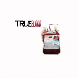 Tee shirt True Blood poche de sang blanc