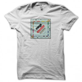 Tee shirt The Wire monopoly blanc