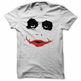 Tee shirt Batman Joker introuvable rare blanc mixtes tous ages
