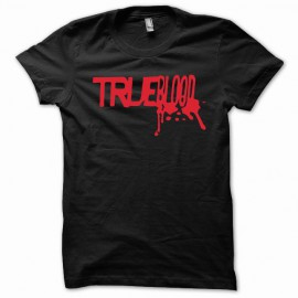 Tee shirt True Blood rouge/noir