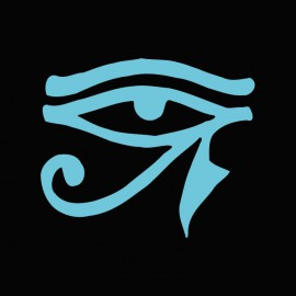 Tee shirt Stargate Ra symbol bleu/noir
