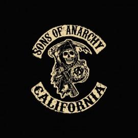 Tee shirt Sons Of Anarchy california blanc/noir