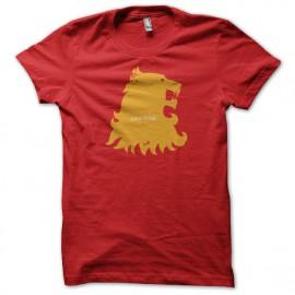 Tee shirt Le Trône de fer tee shirt Lannister Game of thrones rouge mixtes tous ages