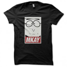 Tee shirt South Park parodie Mkay noir mixtes tous ages