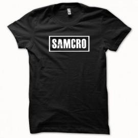 Tee shirt Samcro Sons of anarchy blanc/noir