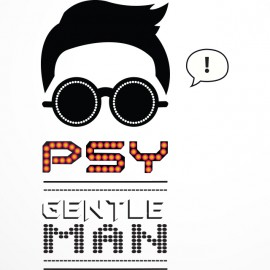 Tee shirt PSY Gentle Man