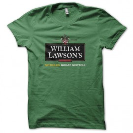 Tee shirt William Lawson scotch vert