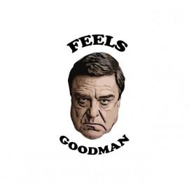 Tee shirt John Goodman Feels Goodman blanc