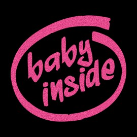 Tee Shirt Baby inside Black