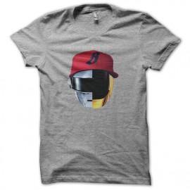tee shirt gris daft punk mix pharrell williams nouveau logo