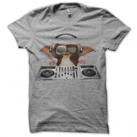 tee shirt gizmo aux platines gris