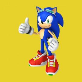 Tee Shirt Sonic Gold