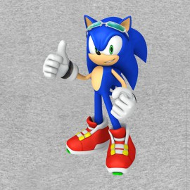 Tee Shirt Sonic Gray