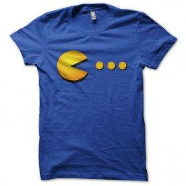 tee shirt pac man blue