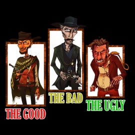 the good the bad the ugly noir