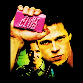tee shirt Fight Club noir
