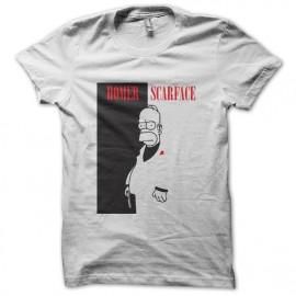 tee shirt homer simpson parodie scarface noir