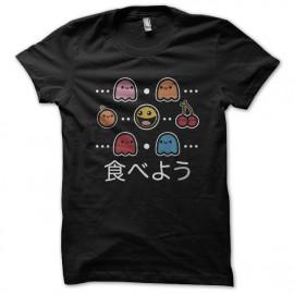 tee shirt Pacman noir
