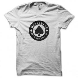tee shirt Motorhead blanc