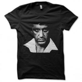 tee shirt tony montana trame noir