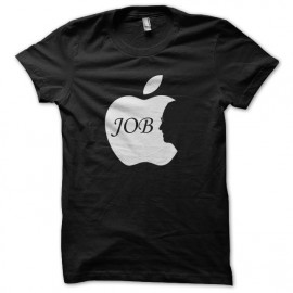 tee shirt steve apple job noir