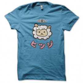 Tee Shirt Kawaii Mouton bleu