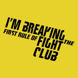 tee shirt i m breaking yellow