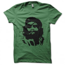 tee shirt che matalgear green