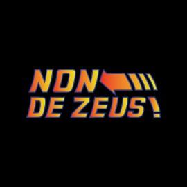 tee shirt retour vers le futur non de zeus phrase culte doc emmet brown noir