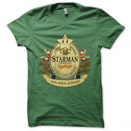 tee shirt Mario beer green