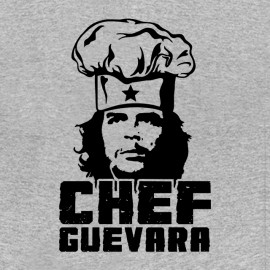 tee shirt chef guevara grey