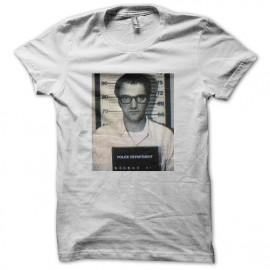 tee shirt tarantino under arrest blanc