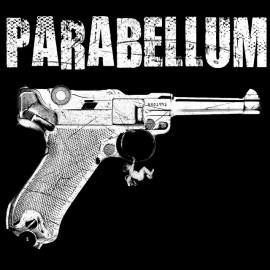 Tee Shirt Parabellum Luger 9mm Schultz NOIR