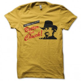 tee shirt better call chuck parodie better call saul jaune