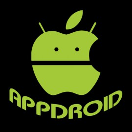 tee shirt appdroid black