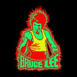 tee shirt Bruce lee noir