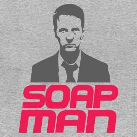 tee shirt soap man grey