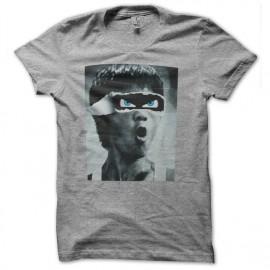 tee shirt bruce lee grey