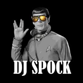 tee shirt dj spock noir