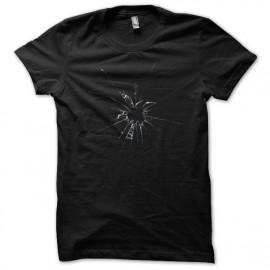 tee shirt glass apple noir