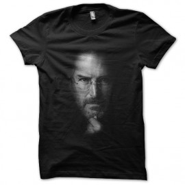 tee shirt steve job noir