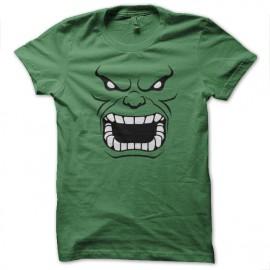 tee shirt Hulk 3d vert mixtes tous ages